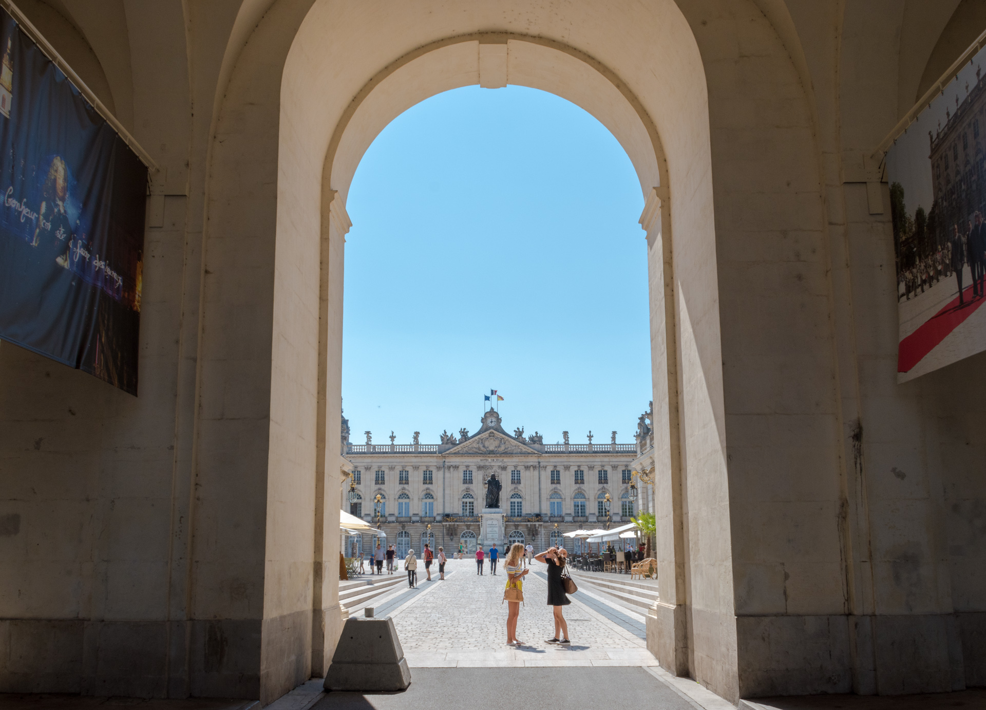 les incontournable de Nancy, la place Stanislas en panoramique